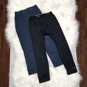 2/15$🔥Athletic Works Tag 2 Under Pants Winter Boy